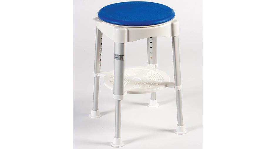 Rotating Stool with Padded Seat